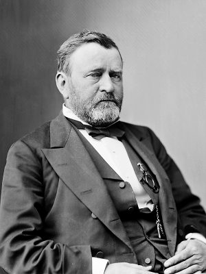 Ulysses S. Grant, Union Civil War general and president of the United States of America, 1869-77